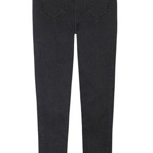 High Rise Skinny Jeans Featuring Di..
